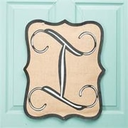 Glory Haus 1-Line Wall Address Plaque; I