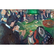 PrestigeArtStudios At The Roulette Table Painting Print