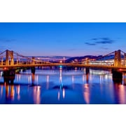 PrestigeArtStudios Andy Warhol Bridge - Pittsburgh Photographic Print
