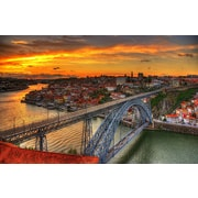 PrestigeArtStudios Dom Louis Bridge - Portugal Photographic Print