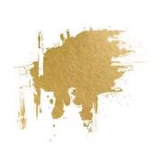 PrestigeArtStudios Industrial Gold Foil Painting Print