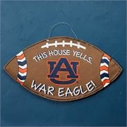 Glory Haus Auburn Football Burlee Wall Decor