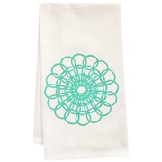 Artgoodies Organic Doily Block Print Tea Towel