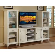 Woodhaven Hill Summerset TV Stand; Brushed White