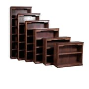 Forest Designs 84'' Standard Bookcase; Coffee Alder