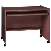 Ironwood General Hub Computer Desk; Natural Oak