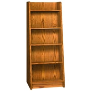 Ironwood Glacier Display 60'' Standard Bookcase; Oiled Cherry
