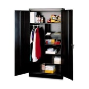 Tennsco Standard 2 Door Storage Cabinet; Black