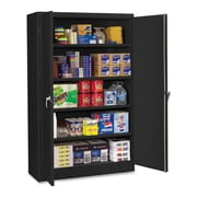 Tennsco Jumbo 2 Door Storage Cabinet; Black