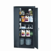 Tennsco 2 Door Storage Cabinet; Black