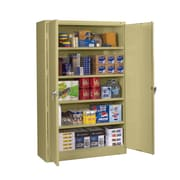 Tennsco Jumbo Storage Cabinet; Light Grey