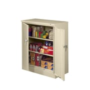 Tennsco Deluxe Counter High Cabinet; Sand