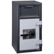Hollon Safe B-Rated Commercial Depository Safe; Combination Lock