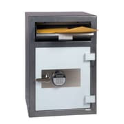 Hollon Safe Steel Commercial Depository Safe; Electronic and Dual Key