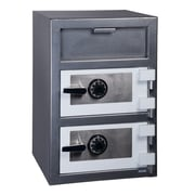 Hollon Safe Steel Commercial Depository Safe; Dual Combination Lock