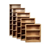 Forest Designs 84'' Standard Bookcase; Antique Alder