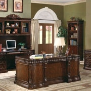 Wildon Home   Corning Executive Desk with Drawers