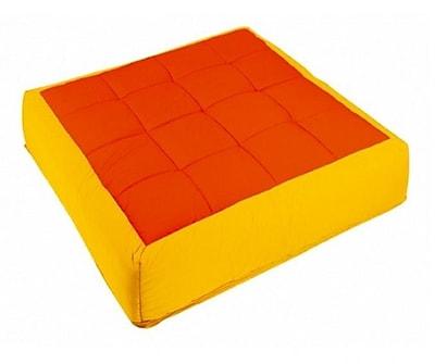Wesco NA Cocoon Kid's Floor Cushion; Yellow / Orange