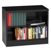 Tennsco 30'' Standard Bookcase; Black