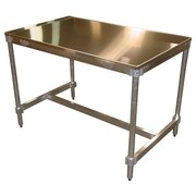 PVIFS Aluminum Frame Work Table; 34'' H x 48'' W x 30'' D