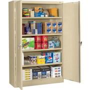 Tennsco Jumbo 2 Door Storage Cabinet; Sand