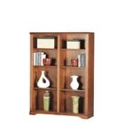 Eagle Furniture Manufacturing Oak Ridge Double 60'' Standard Bookcase; Light Oak