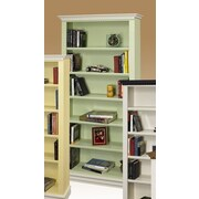 A&E Wood Designs Hampton 72'' Standard Bookcase