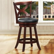 Kingstown Home Wade 24'' Swivel Bar Stool with Cushion
