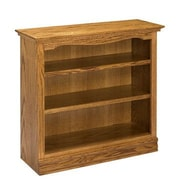 A&E Wood Designs Americana 36'' Standard Bookcase; Light