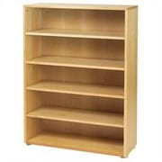 Maxtrix Kids Storage Units 52'' Standard Bookcase; Natural