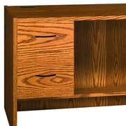 Ironwood Glacier Hanging Pedestal; Oiled Cherry