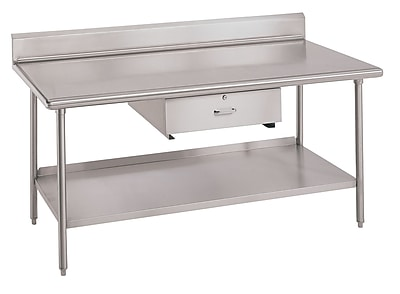 IMC Teddy Worktable Utility Prep Table; 34'' H x 30'' W x 30'' D WYF078277749303