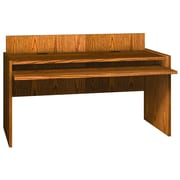 Ironwood Glacier Writing Desk; Amber Ash