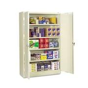 Tennsco Jumbo 48'' Combination Storage Cabinet; Putty