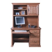 Forest Designs Computer Desk; Antique Alder