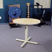 Populas Progression Float 36'' D Training Table; Dove Gray