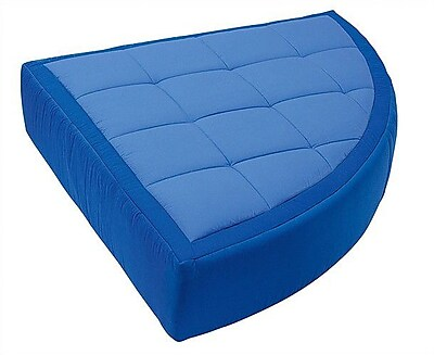 Wesco NA Cocoon Kid's Floor Cushion; Dark Blue / Light Blue
