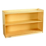 Childcraft Adjustable Mobile Bookcase; 30'' H x 47.75'' W x 14.25'' D