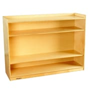 Childcraft Adjustable Mobile Bookcase; 36'' H x 47.75'' W x 14.25'' D