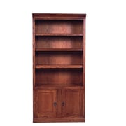 Forest Designs 72'' Standard Bookcase; Red Oak