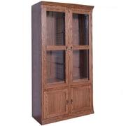 Forest Designs 84'' Standard Bookcase; Coffee Alder