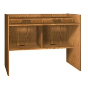 Ironwood Glacier Computer Desk; Oiled Cherry
