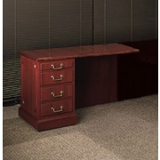 High Point Furniture Bedford 29'' H x 42'' W Desk Bridge; Mahogany