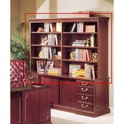 High Point Furniture Bedford 48'' H x 72'' W Desk Double Hutch; Mahogany