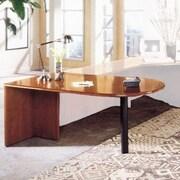 High Point Furniture Forte 29'' H x 72'' W Peninsula Desk; Honey Cherry