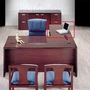 High Point Furniture Vitality 29'' H x 48'' W 3/4 Pedestal Left Desk Return; Windsor Cherry
