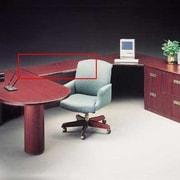 High Point Furniture Vitality 29'' H x 48'' W Desk Bridge; Windsor Cherry