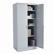 Tennsco Deluxe 2 Door Storage Cabinet; Light Gray