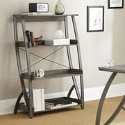 Steve Silver Furniture Hatfield 52'' Leaning Bookcase