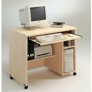 Tvilum 600 Series 38'' W Computer Desk AV Cart; Light Maple